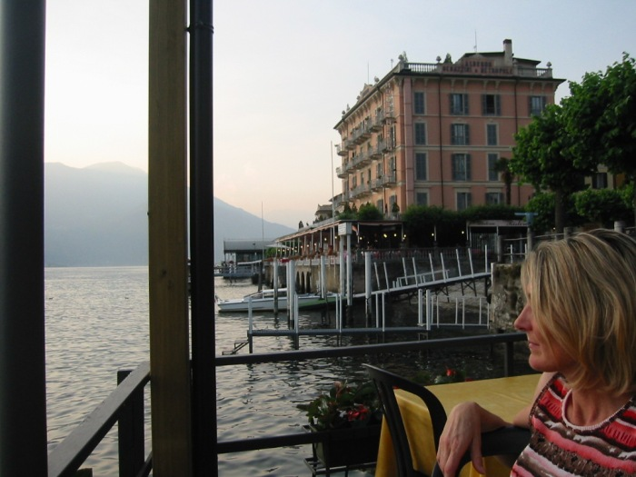 Pondering on Lake Como