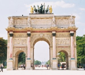 Arc du Carrousel, Paris