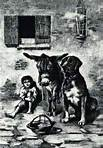 Rosina and Puck in Naples