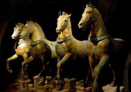 The Bronze Horses of St. Marks Basilica