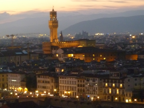 Palazzo Vecchio-Heart of Florence's Social and Political Life for Centuries. It was here that girolami Savanarola was Burned at the Stake as a Heretic.