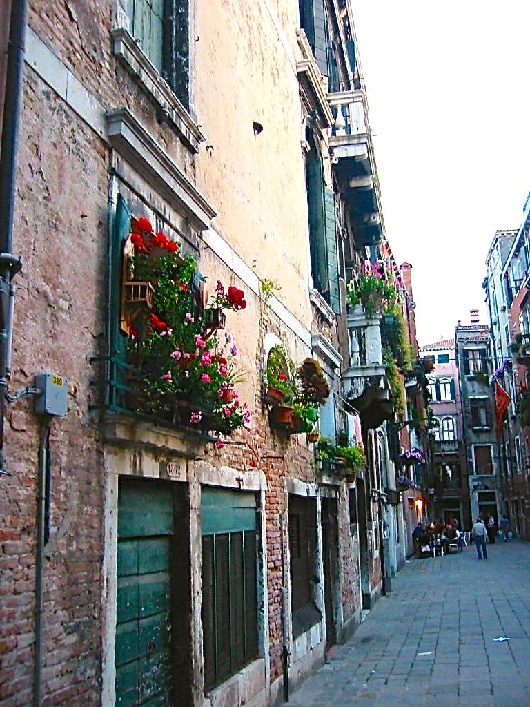 Venice alleyway