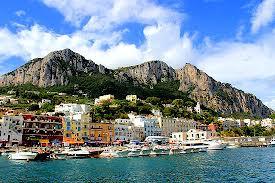 Monte Barbarossa soars above Capri