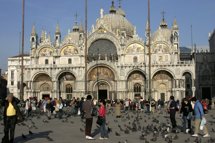 St. Marks Basilica and square