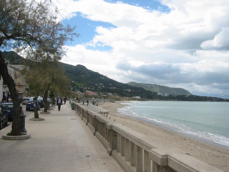 Cefalu Beach Promenade
