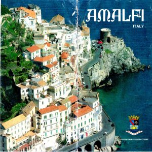 My Brochure of Amalfi with the Mystery Tower