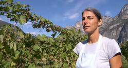 Elisabetta Foradori, from the Trentino-Alto Adige