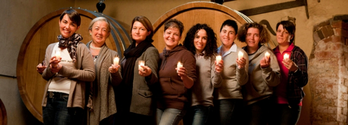 Let's hear it for our Italian ladies of the vine.