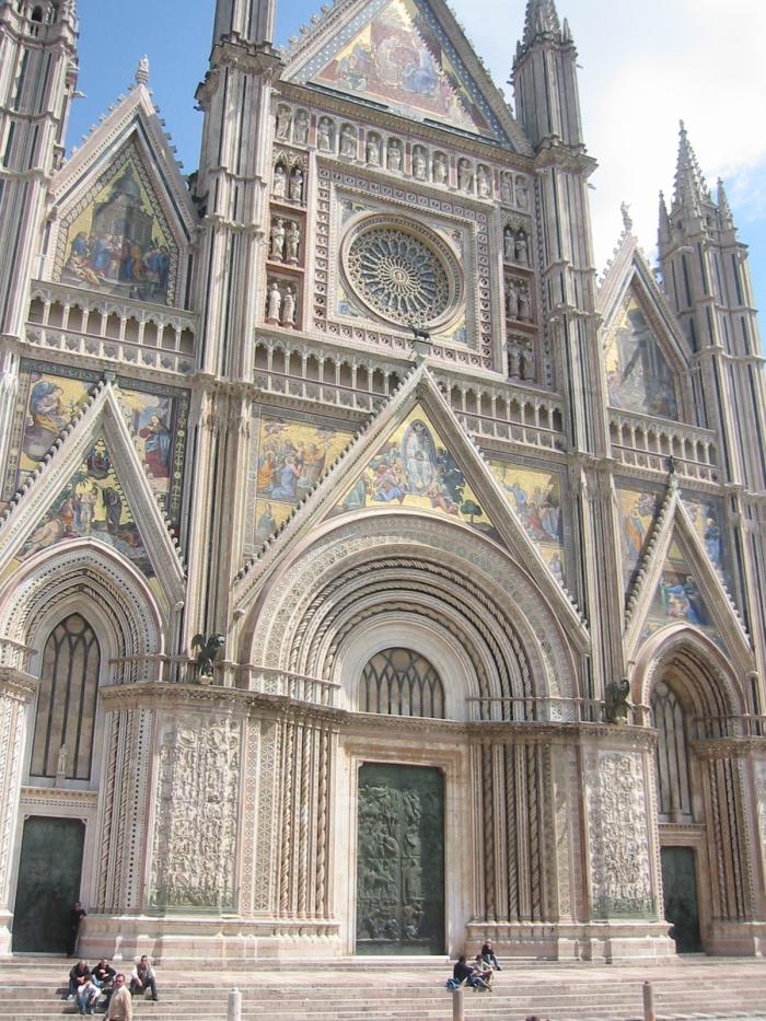 Orvietto Cathedral - 14th century Roman Catholic Basilica