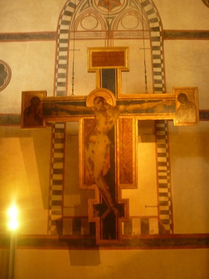 Cimabue's damaged Crucifix