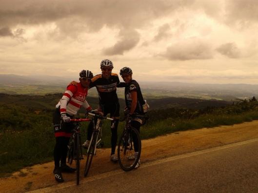 Adnan and pals on ridge