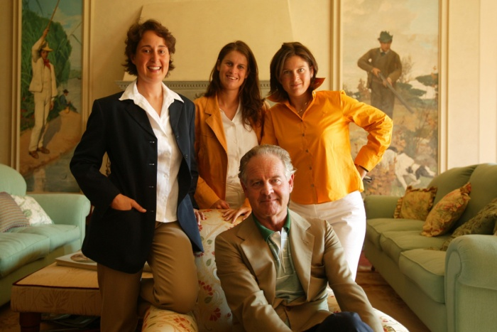 Antinori Sisters and Father Marquis