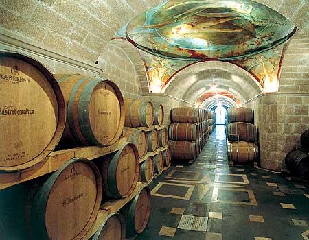 Mastroberardino Wine Cellar