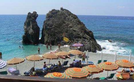 Portovenere Beach Scene