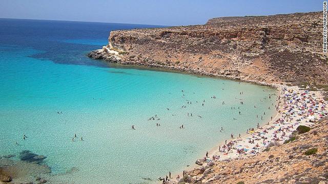 Rabbit Beach, Lampedusa,Sicily