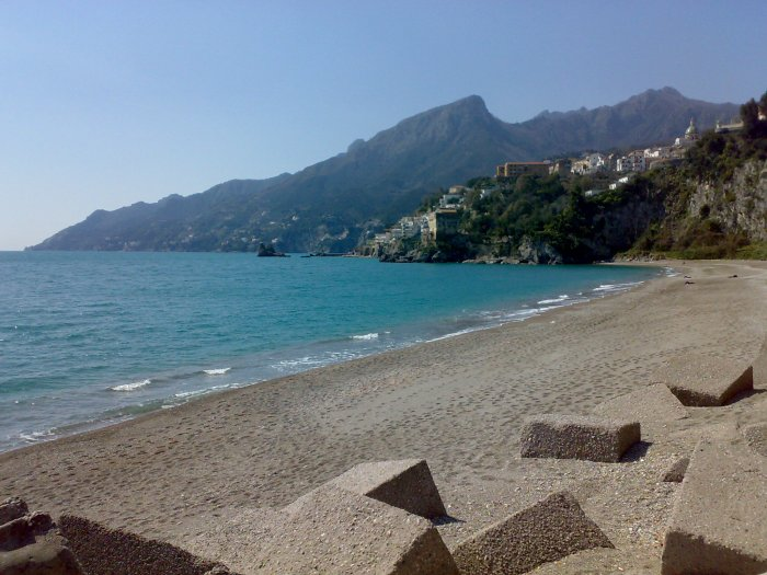 Baia Beach in Salerno