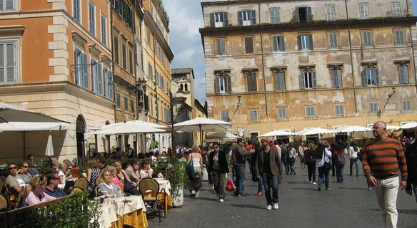 Jewish Ghetto in Trastevere