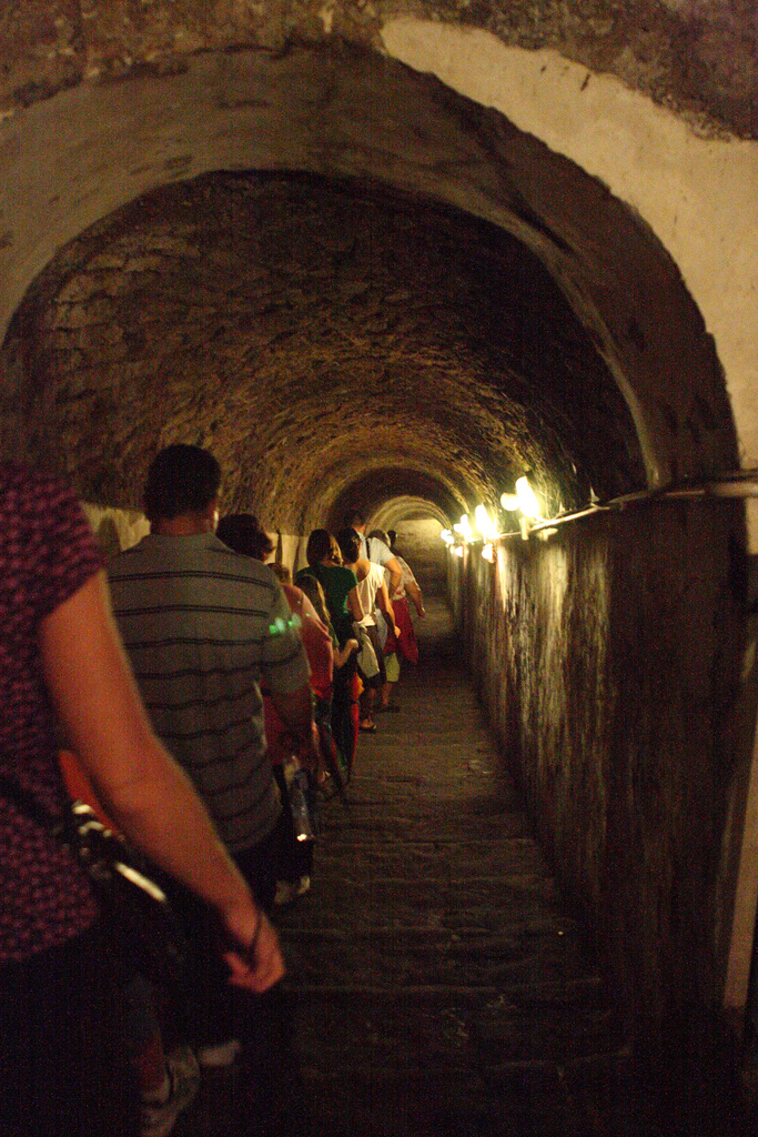 Descending to the Naples Underground