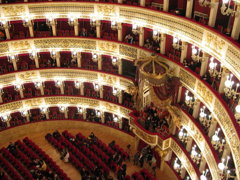 San Carlo Theater Panorama