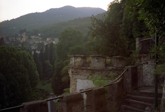 Fortress Remains at Ville d'Este