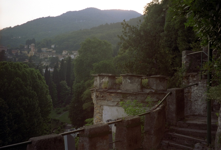 Fortress Remains at Ville d'Este
