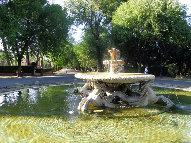 Fountain in the Villa Borghese Gardens