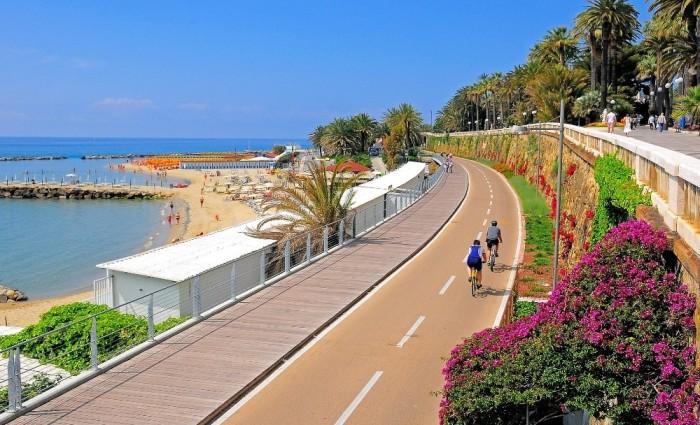 Cycling the Italian Riviera