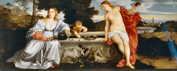 titian-The Sacred and the Profane