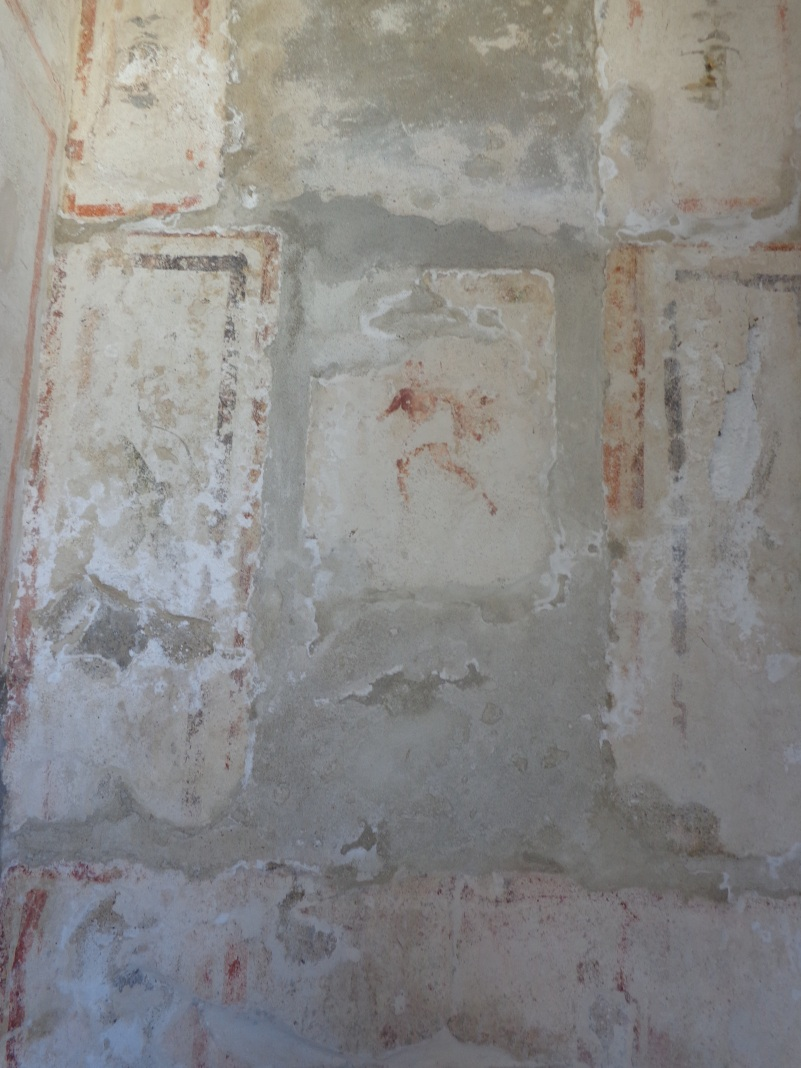 More frescoes, still somewhat visible nearly two thousand years later