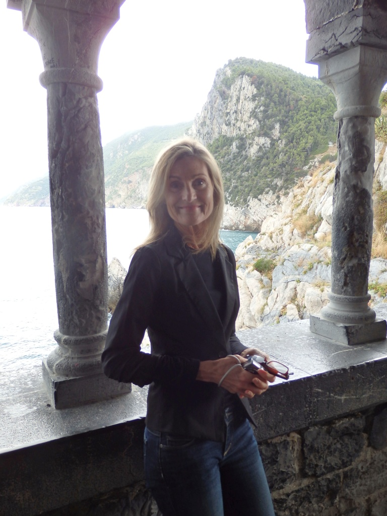 Porto Venere viewpoint with the Mediterranean behind me