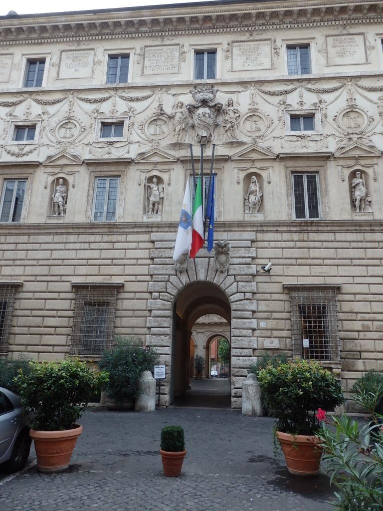 Facade of the Palazzo Spada