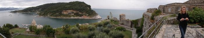 Panoramic View from Castle Doria parapet