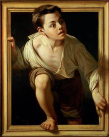 Escaping Criticism by Pere Borrell del Caso 1874