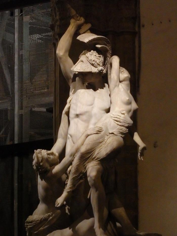 Statue in the Loggia dei Lanzi,