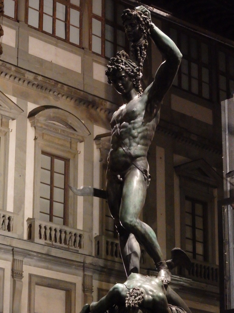 Perseus with the head of Medussa