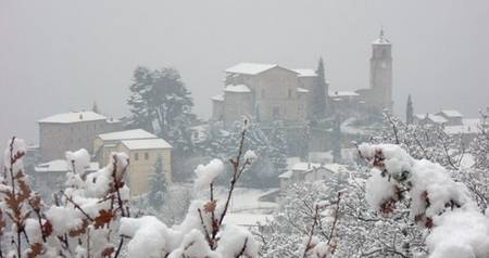 Greccio monastery on the spot St. Francis built a living creche