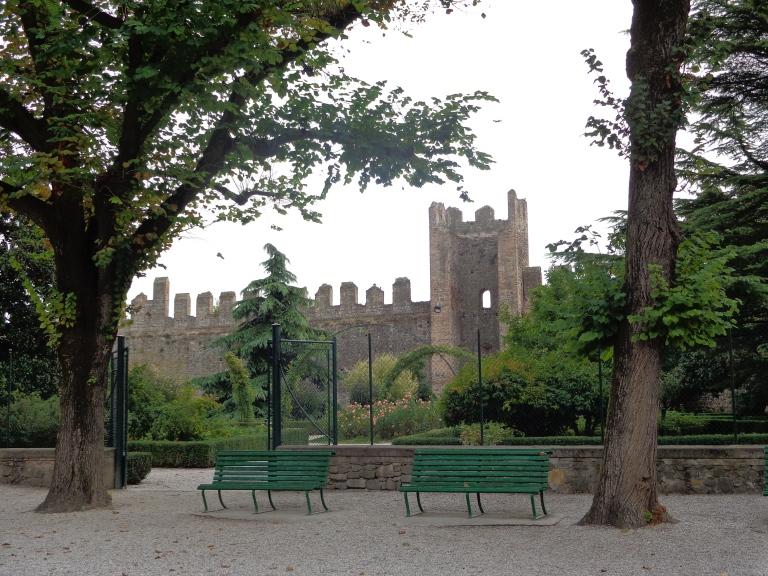 Castle of Este gardens, Italy