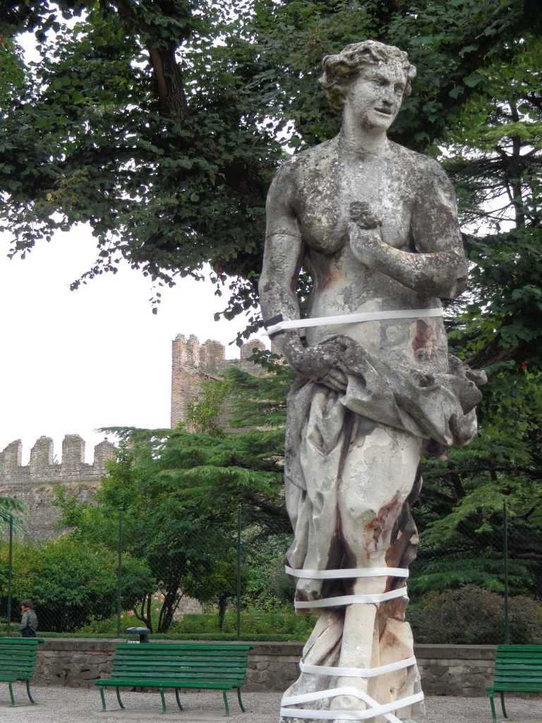 Centaur statue in the Castle of Este, Italy