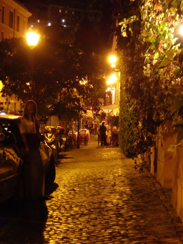 Evening in Trastevere