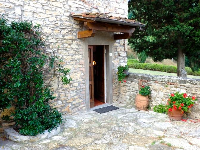 Agritourismo at Castello Verrazzano, Chianti