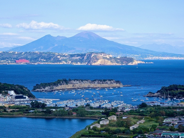 Baia, Naples and Vesuvius