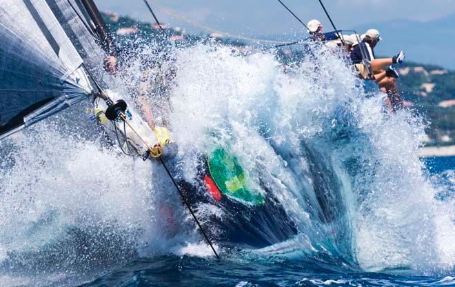 BELLA MENTE, Sail n: USA, Owner: HAP FAUTH, 2013 Giraglia Rolex Cup -  Marcel Mochet / Route des Princes