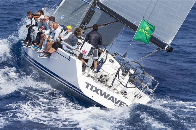Bernard Vanaty's Tixwave from Great Britain ~ Overall winner of the 2014 Giraglia