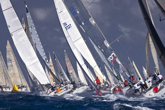 2014 Giraglia Rolex Cup in full swing