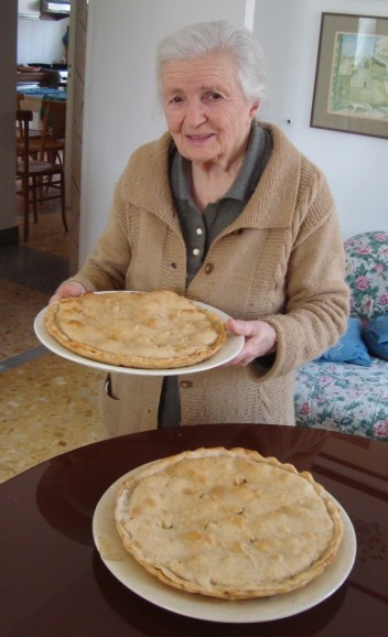 Nicola's nonna makes a mean tiella!