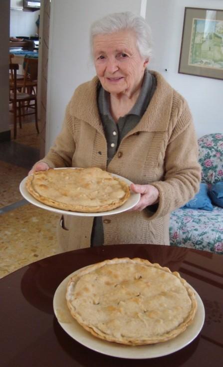 Nicola's nonna makes a mean tiella!