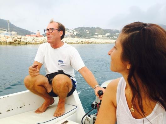 Our trustworthy boatsman