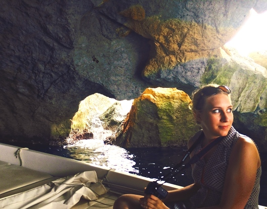 Exploring caves and grottoes with Avary Sassaman