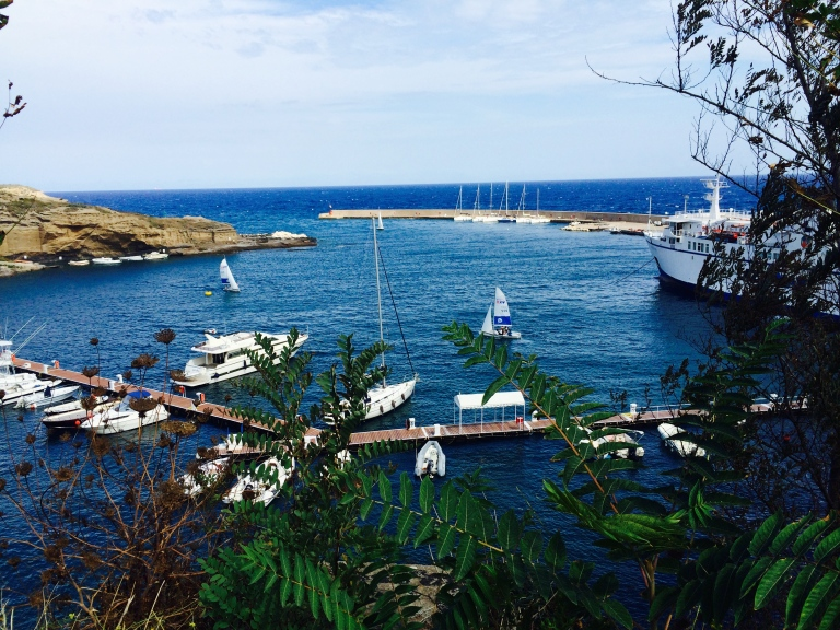 Ventotene harbor