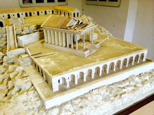 Model of the Temple of Jupiter Anxur